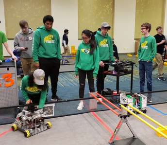 Robotic Team Ends Season with Style