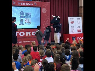 Toro, the Texans Bull