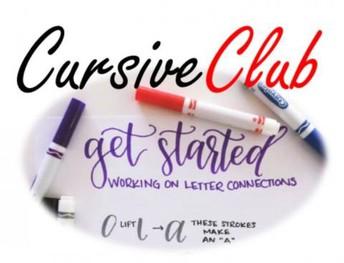 Cursive Club / Club Cursivo