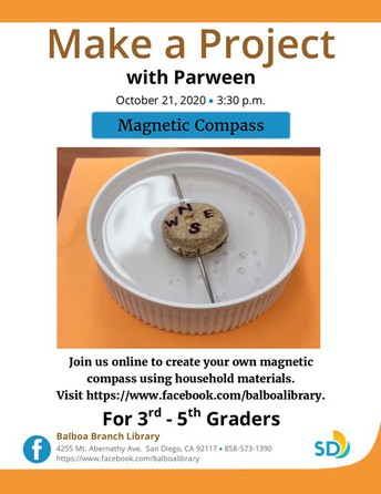 Make a Magnetic Compass Project
