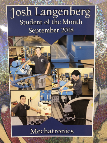 UBCTS student of the month
