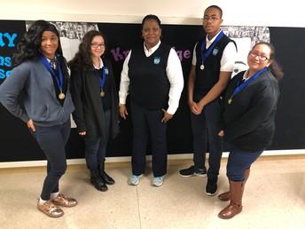 Math Olympiad Winners