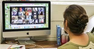 ¡Estudiantes que realizarán el aprendizaje a distancia!