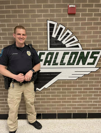 Resource Officer DJ Skluzacek Ends His Term; Officer Sjodin Returns to FHS