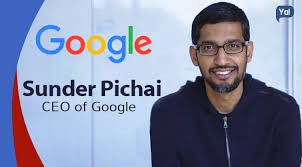 Who is the CEO of Google