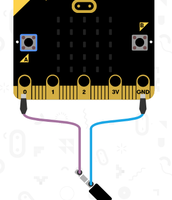 The Microbit through the makecode.com programming tool