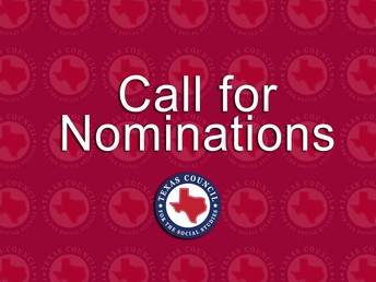 TCSS Call for Nominations