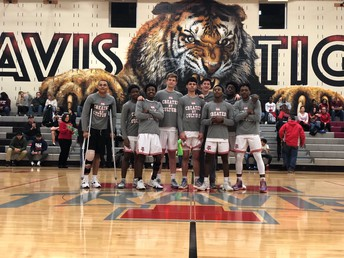 Boys Basketball Senior Night to celebrate Class of 2019!  They have lead the Tigers to their 11th consecutive playoff appearance!