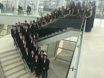 Urbandale Singers at the Kauffman Center
