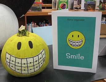 Glen Grove School Library's Pumpkin Book Character Contest!