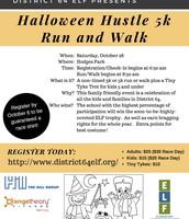 Halloween Hustle Flyer
