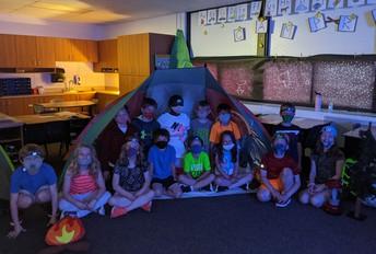 classroom camping