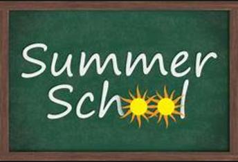 Summer School Information Coming...