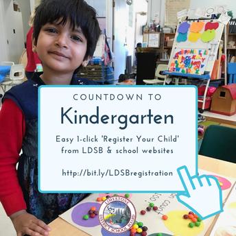 Kindergarten Registration is Now Underway!