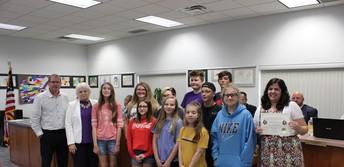 Riverbend Middle School Art Students & Mrs. Puls