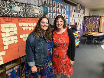 Super 2nds Ms. Swesey & Mrs. Opperman!