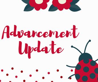 Advancement Update