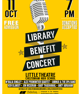 CHS Library Benefit Concert