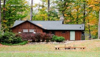 view of Ligon Lodge