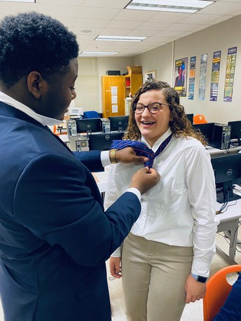 Howard Middle FBLA Chapter Has Its First State Office