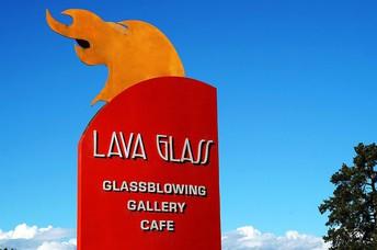 Lava Glass Blowing, Sculpture Garden & Gallery