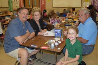 Edison invites grandparents for lunch