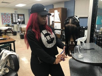 """CFAAT Cosmetology Instructor Tanya Rogers is Helping Our Students Become """"FABULOUS"""" in Their Craft!"""
