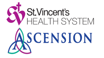 St. Vincent's Health System Ascension logo