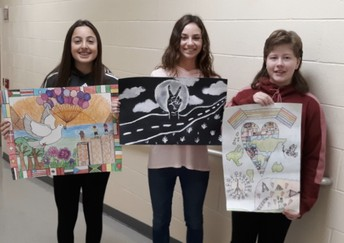 JLW Lions Club Poster Contest winners!