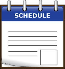 2020-2021 Student Schedule