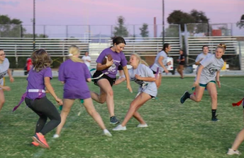 Ladies Take the Field with Powderpuff