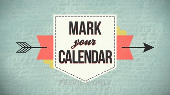 Upcoming September Dates
