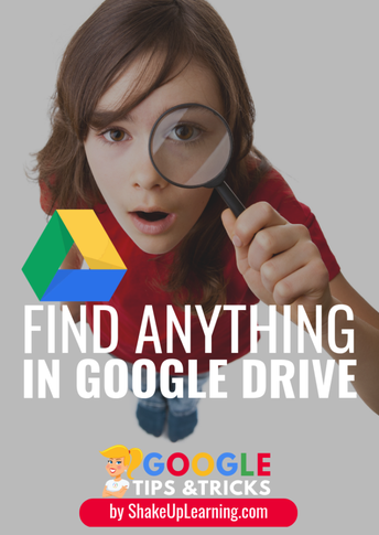 Find Anything in Google Drive