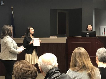 Arezue Board Recognition