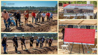 Lyons Farm Elementary School | Groundbreaking Ceremony