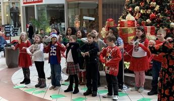 Holiday Sing-along at the Boulevard Mall