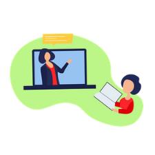 Online Instruction Graphic