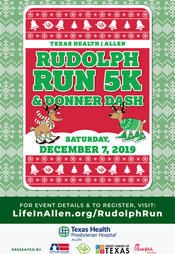 Annual Rudolph Run: Sign Up by November 1