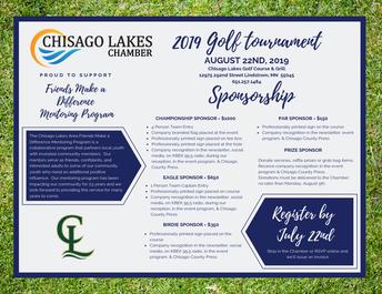 Chamber Golf Tournament - August 22nd