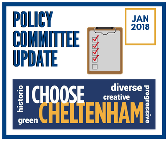 Stay Informed | Policy Committee Update January 2018