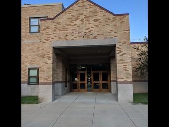 School Entrance for Drop-Off for K-8