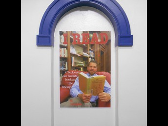 """I Read"" poster campaign"