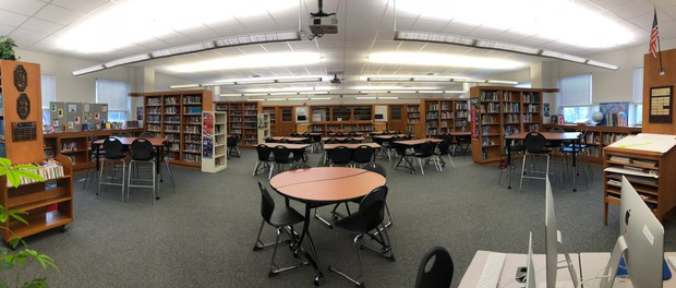 Empty WSPMS Library - We Miss You!