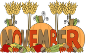 Welcome to November!