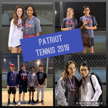 Congrats to our Tennis Teams for a great season!