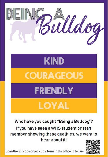 Have you caught someone being a Bulldog?
