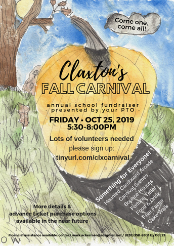 The Fall Carnival Is Coming....