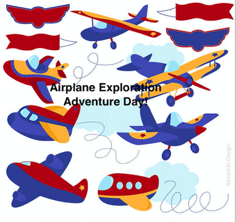 Airplane Exploration Day