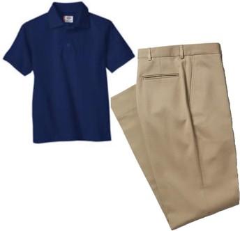 Go shopping in the uniform exchange closet!