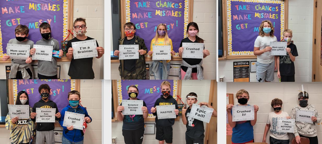 6th Grade Science Escape Room Artists
